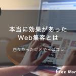 保護中: 本当に効果があったWeb集客方法を大公開!Web集客はコレだ